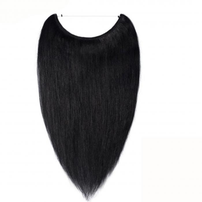 black halo hair