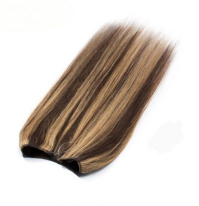 foiled brown hair extension