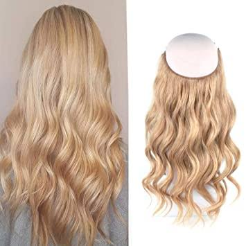 Creamy Latte foiled mix Halo Hair